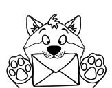 Dibujo de Cão com letra
