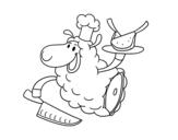 Dibujo de Carne de cordeiro