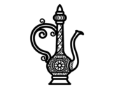 Desenho de Chaleira de Marroco para colorear
