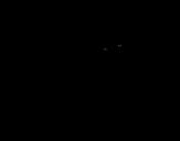 Dibujo de Coelho astronauta