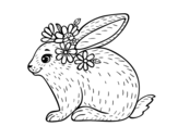 Dibujo de Coelho primaveral