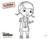 Desenho de Doutora Brinquedos para colorear
