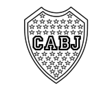 Dibujo de Emblema do Boca Juniors