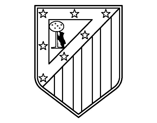 Coloriage De Foot Real Madrid.Real Madrid Coloriage