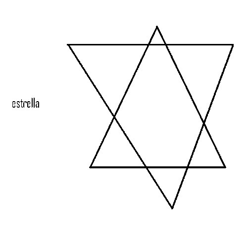 Desenho de Estrela para Colorir