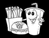 Dibujo de Fast-food