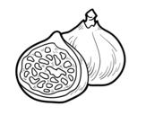 Desenho de Figo para colorear