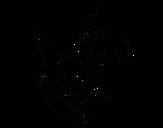 Desenho de Flor Brugmansia para colorear