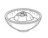 Dibujo de Gelado de chá