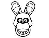 Desenho de Golden Freddy de Five Nights at Freddy's para colorear