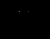 Desenho de Guepardo fêmea para colorear