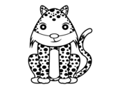 Dibujo de Guepardo fêmea