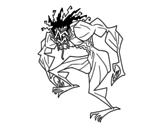 Dibujo de Homem troll