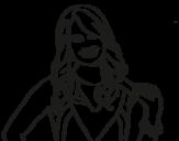 Desenho de Jessie Prescott para colorear