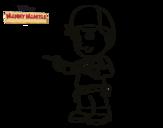 Desenho de Manny Mãozinhas para colorear