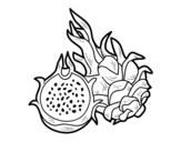 Desenho de Maracujá para colorear
