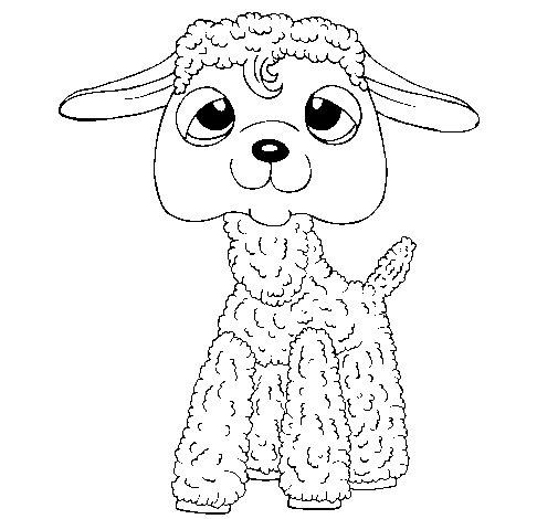 Desenho de Ovelha II para Colorir