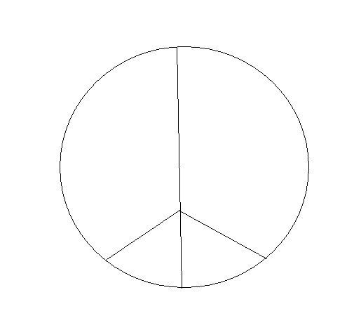 Desenho de Paz para Colorir
