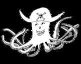 Dibujo de Polvo pirata