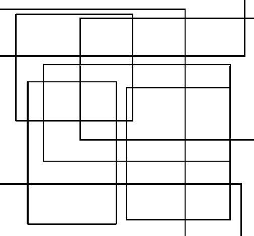 Desenho de Quadrado para Colorir