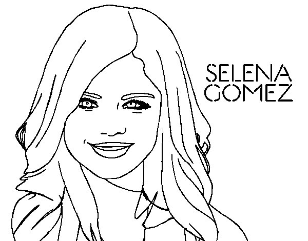 Demi Lovato And Selena Gomez Coloring Pages - Selena Gomez #17 ...