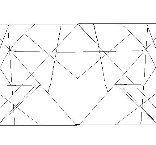 Desenho de Simetria para Colorir