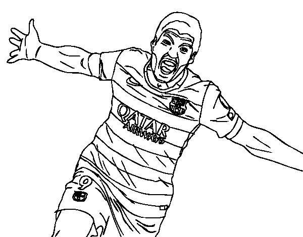 Suarez Coloring Pages