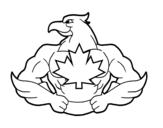 Desenho de Super pássaro para colorear