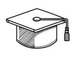 Desenho de Tocco accademico para colorear