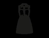 Desenho de Vestido texano para colorear