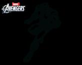 Desenho de Vingadores - Iron Man para colorear