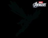 Desenho de Vingadores - Vespa para colorear
