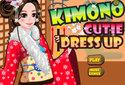 Kimono para uma menina