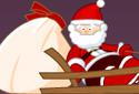 O trenó de Santa